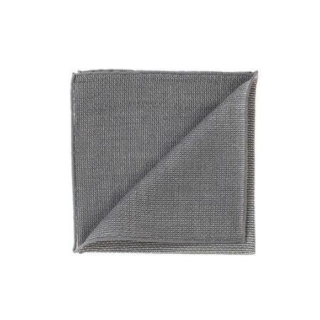 Cachemire » Pochette cachemire blanc argenté